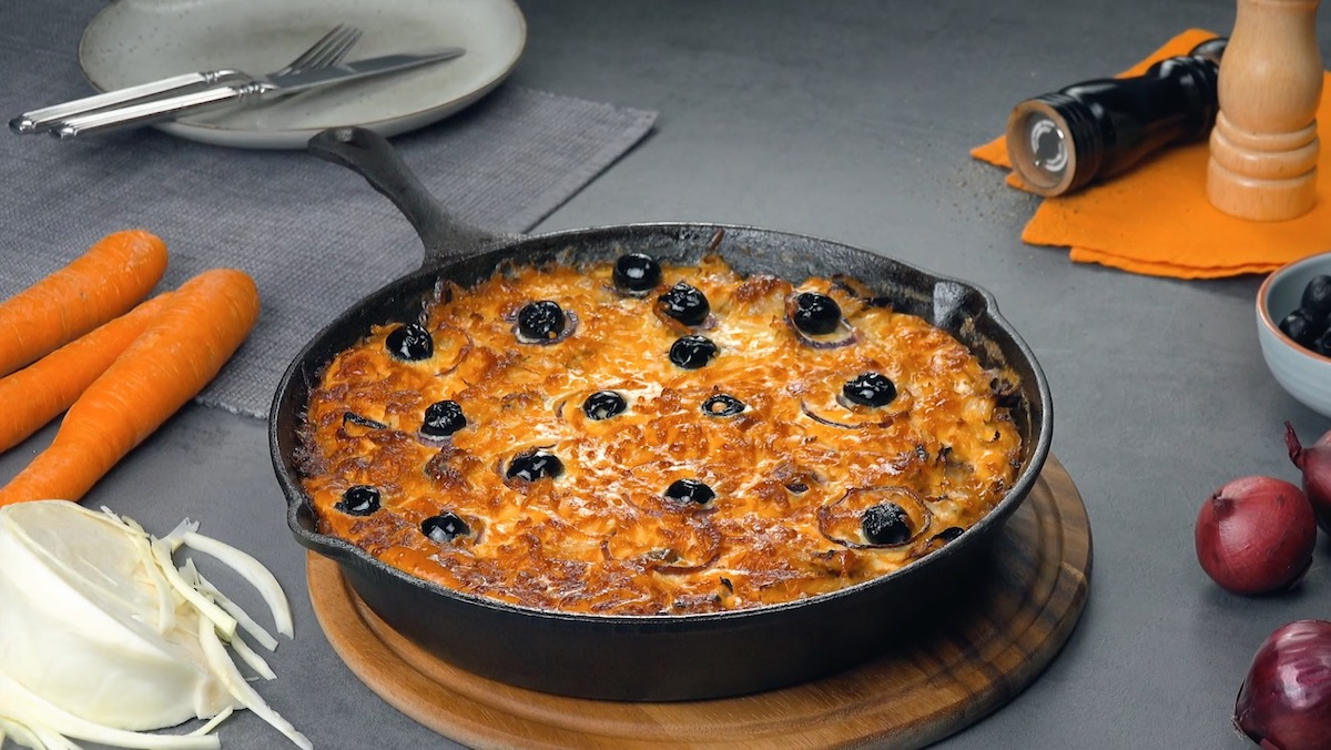 Delicious Frittata Recipe With Cheese And Sausage