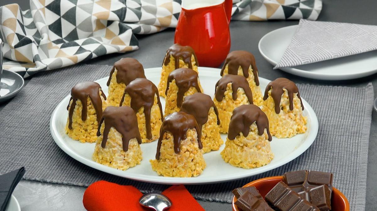 Buttercream Cake Pops Covered In Delicious Dark Chocolate